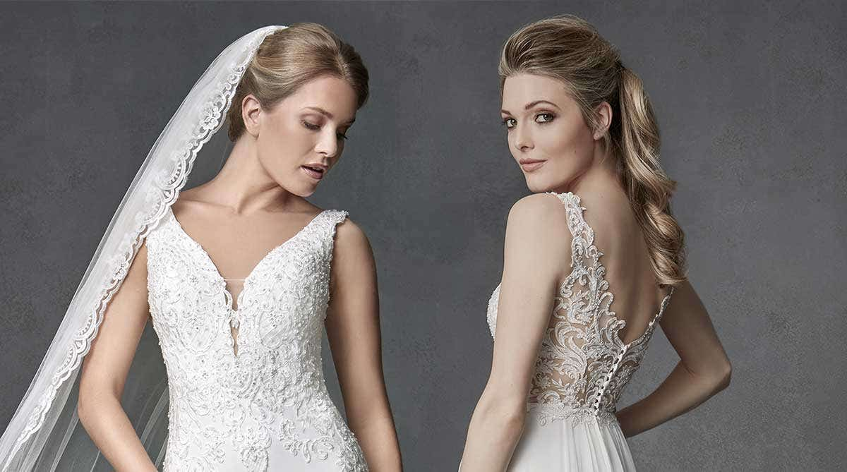 Be seduced by a sexy wedding dress from our Signature Collection