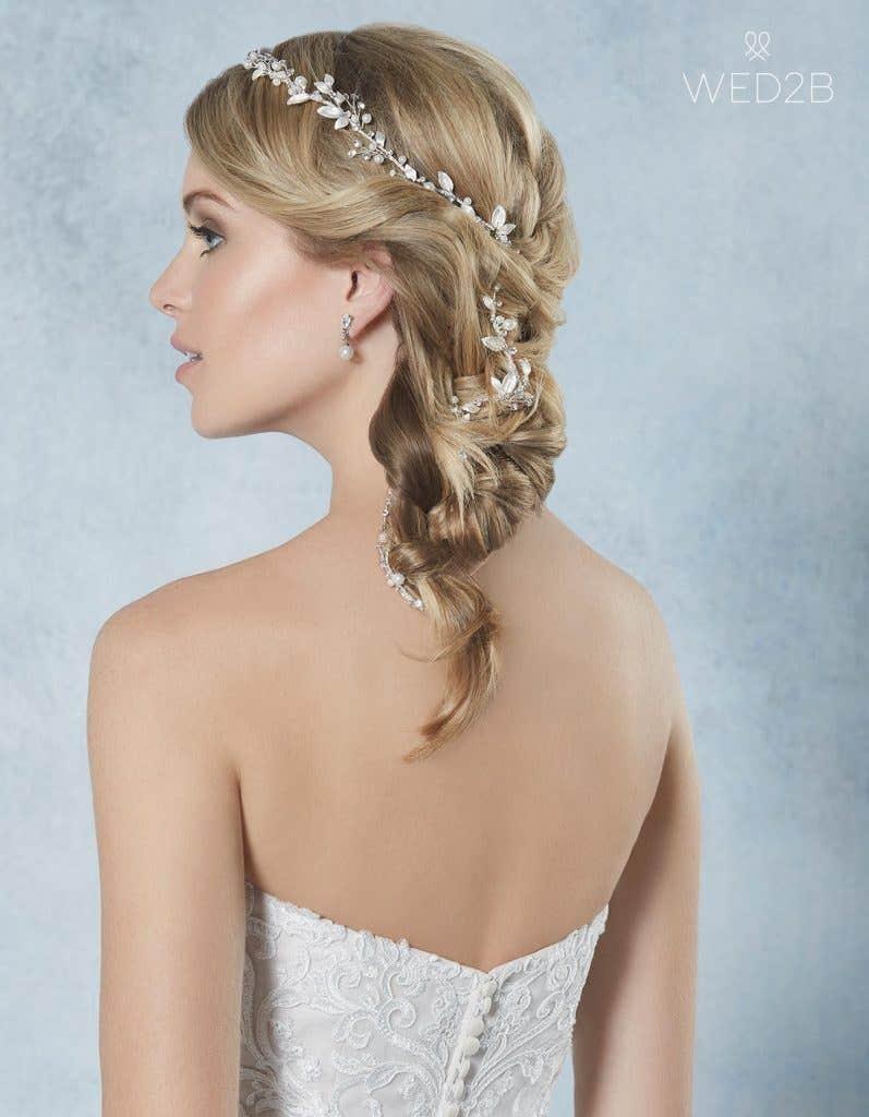 Calli hair vine - bridal hair accessories