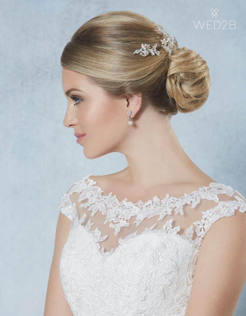 Honey hair pins - bridal hair accessories