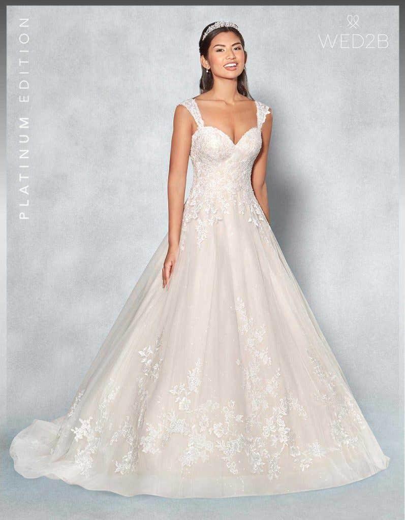 Front view of Lexington Platinum Edition an exclusive wedding dress