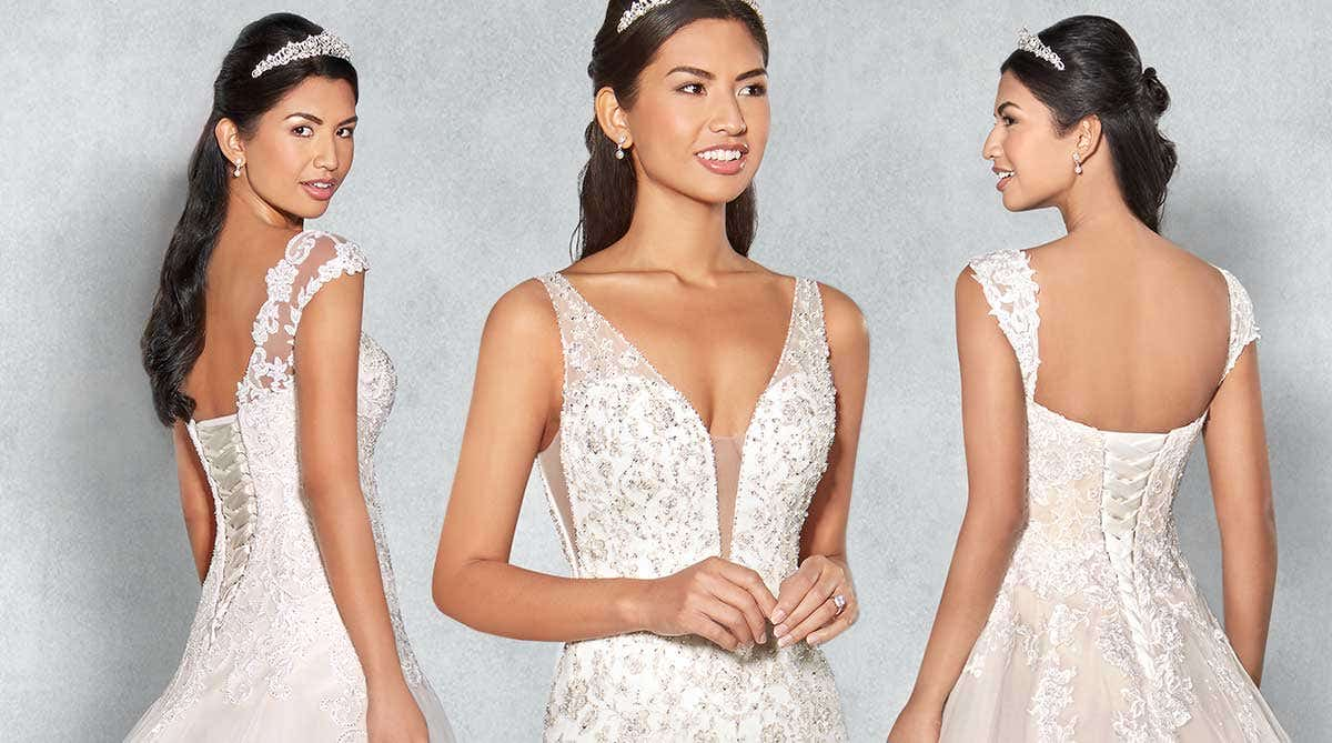 Three brand new and exclusive wedding dresses from Viva Bride…
