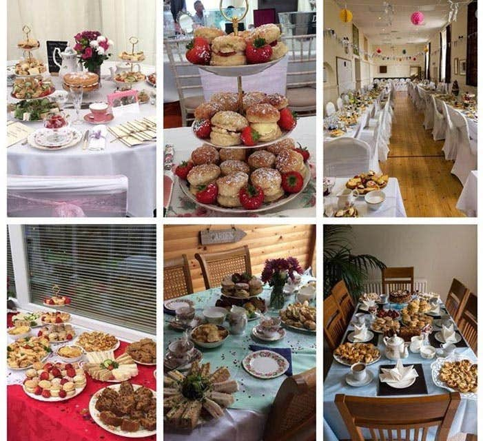 Afternoon Teas by Crème Brew Lait - wedding catering