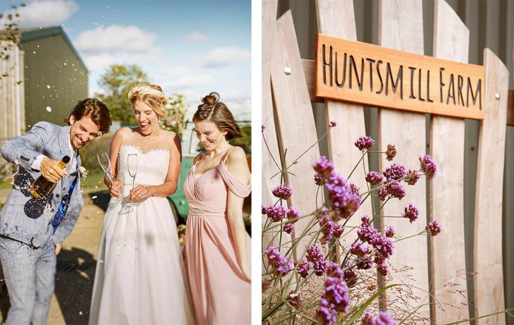 Find the perfect venue for a boho wedding