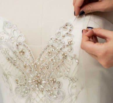 Take a peek behind the scenes and discover how we make your dream dress…