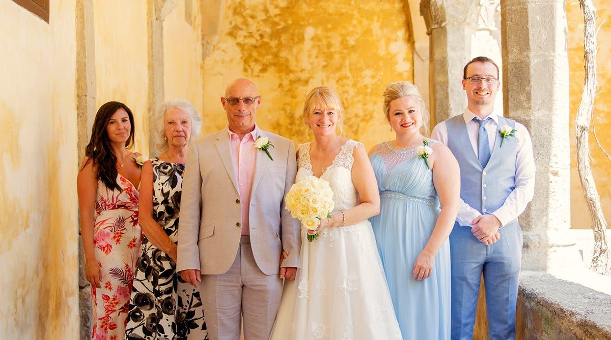 Real Weddings Bournemouth: Elizabeth and Mark's idyllic destination wedding