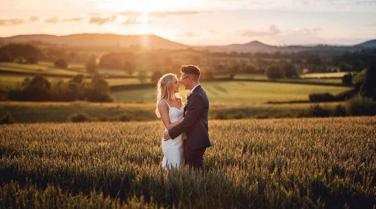 Real Weddings Bristol: Charlotte and Martin's delightful rustic wedding