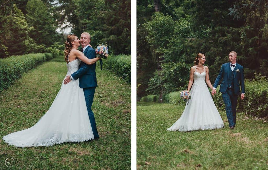 Roxana's chic wedding in Romania