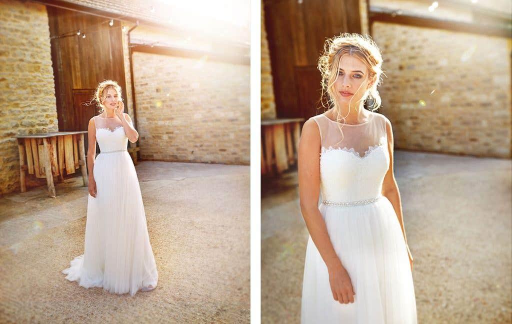 A totally dream wedding dress for a Boho wedding
