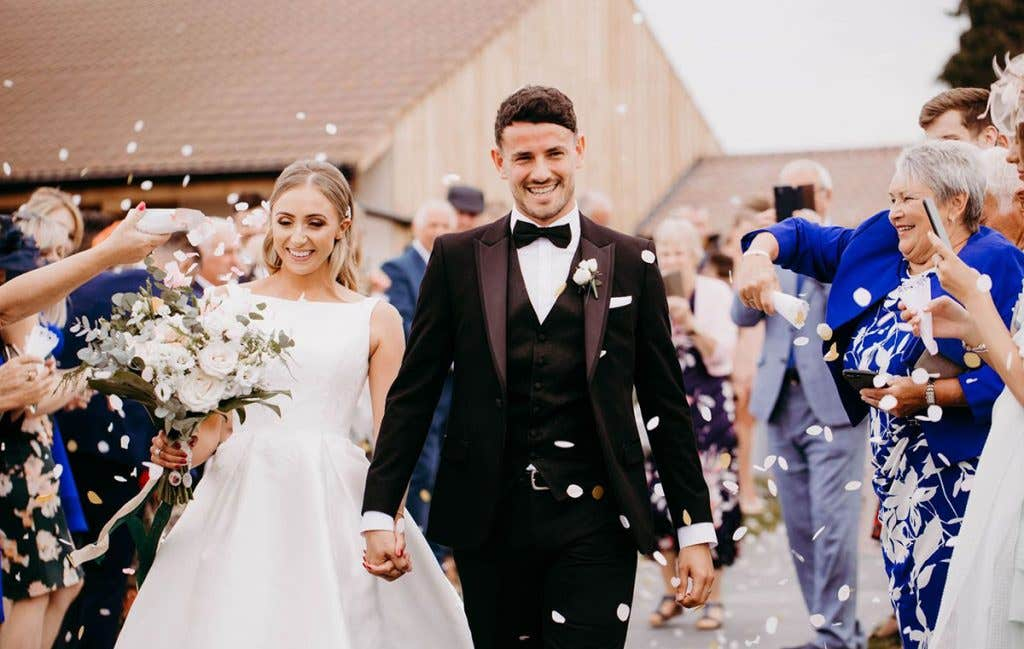 Katie and Nick's gorgeous Somerset wedding