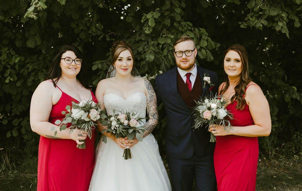 Emily's top tips inspired by her barn wedding