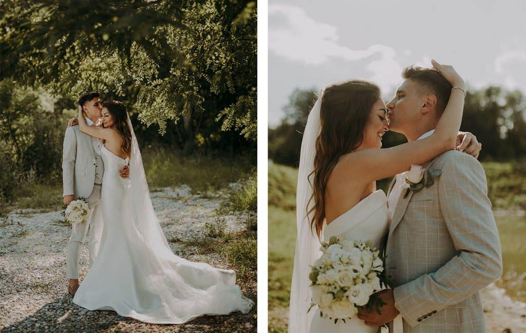 Yolanda and Kostadin on their Bulgarian wedding day