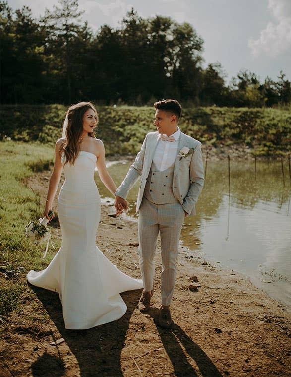Yolanda and Kostadin's stylish Bulgarian wedding