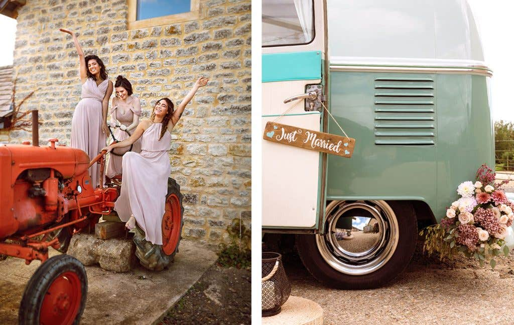 Get you to the church in time for your boho wedding