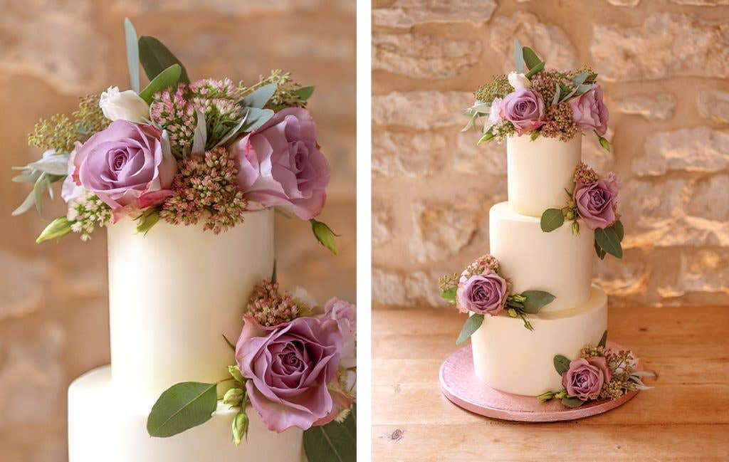 Time to eat cake at your boho wedding