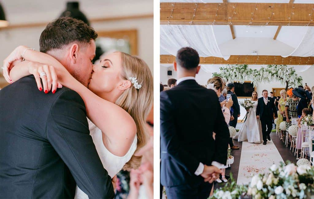 The big day for this Somerset wedding