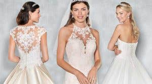 Four fabulously romantic wedding dresses by Viva Bride…