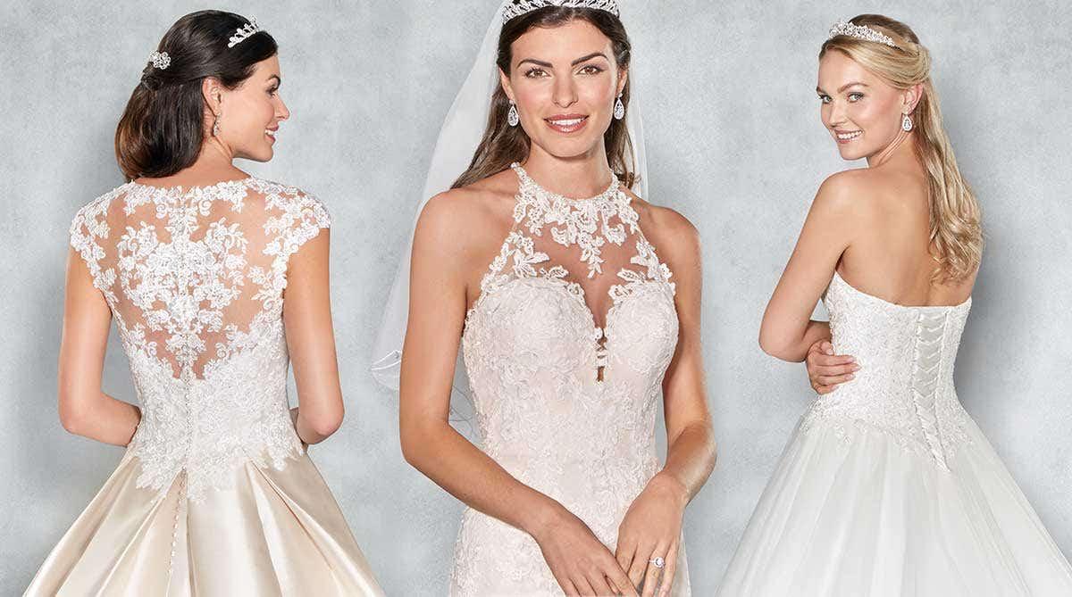 Four fabulously romantic wedding dresses by Viva Bride…