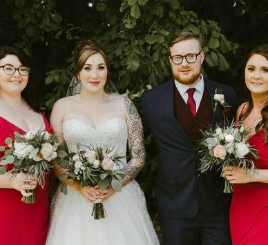 Real Weddings Camberley: Jack and Emily's elegant barn wedding