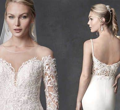 Fall in love with these beautiful wedding dresses…