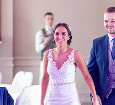Real Weddings West Midlands: Chloe and Liam's picturesque Irish wedding