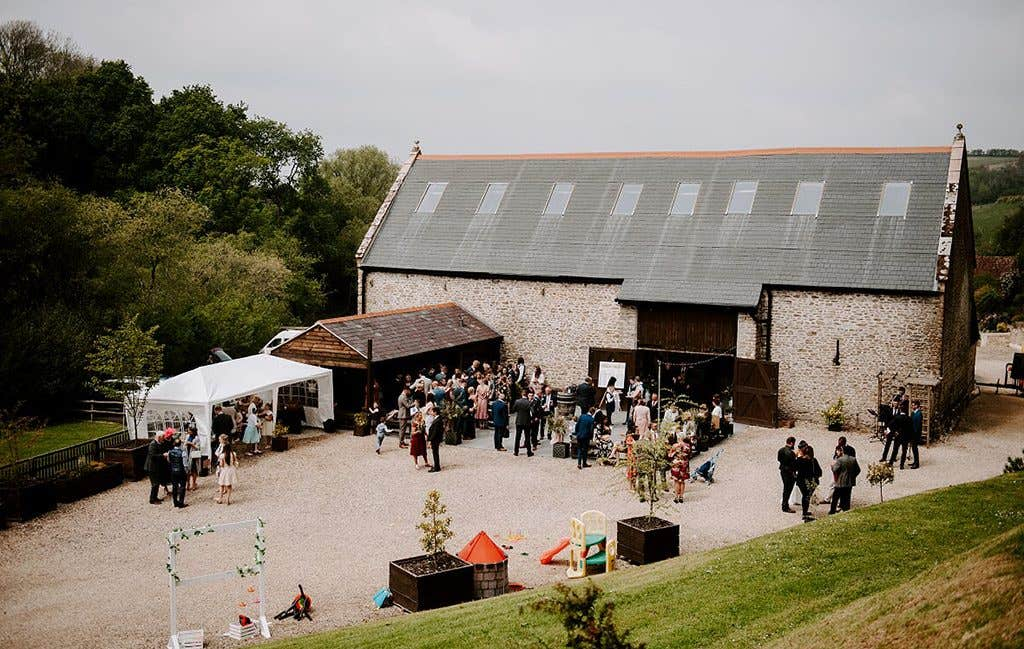 The perfect venue for a rustic wedding
