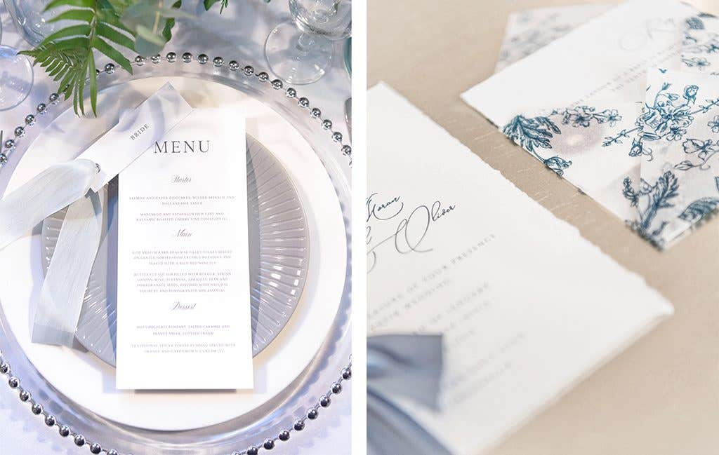 Wedding stationery perfect for your winter wedding