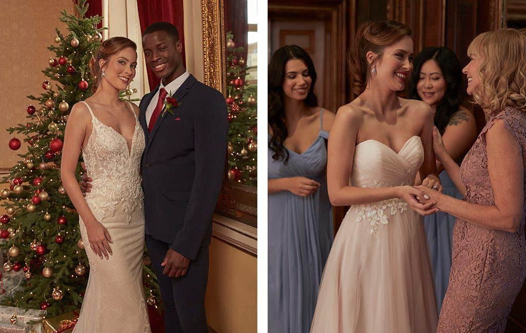 Wedding dresses to dance the night away in at your winter wedding