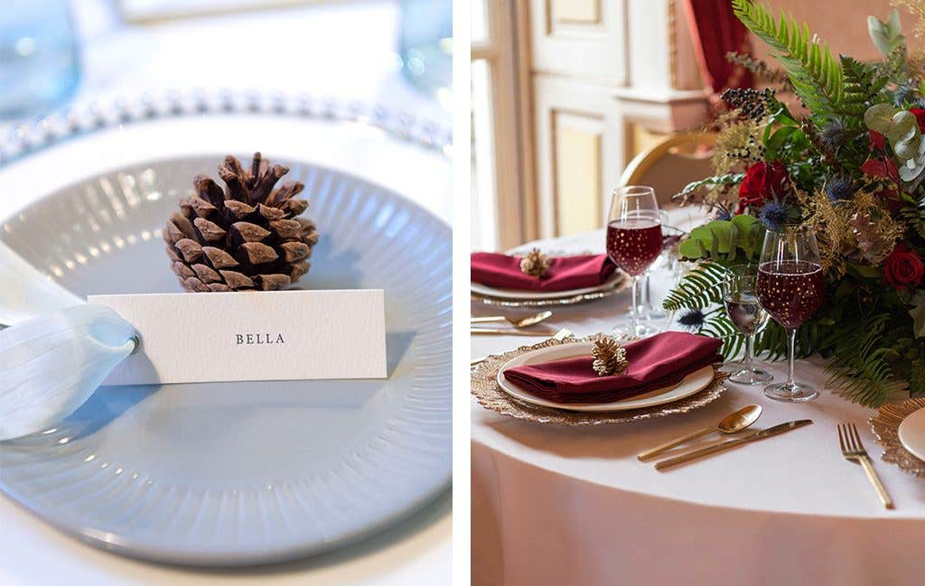 It's all in the details for your winter wedding
