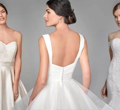 Traditional wedding dresses with timeless style