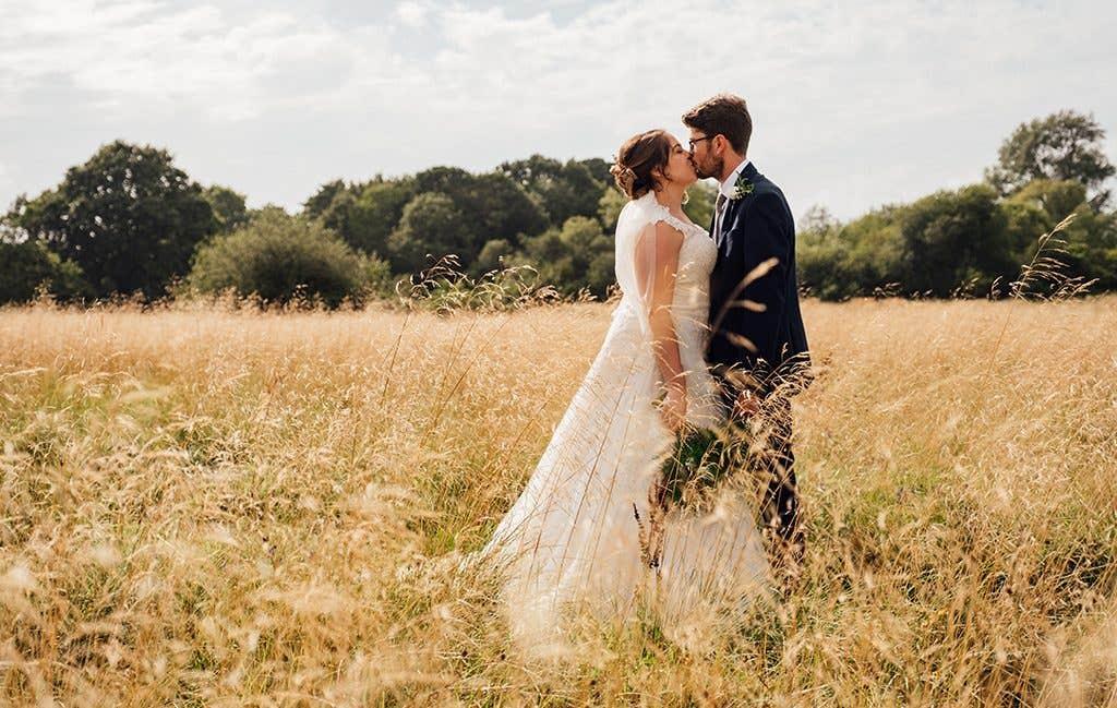 Kathryn and Dan's idyllic countryside wedding