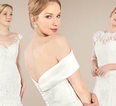 Five glorious vintage wedding dresses