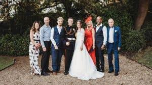 Real Weddings: An elegant townhouse wedding