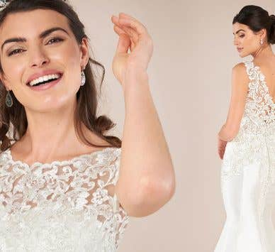 Adorable and timeless vintage lace wedding dresses
