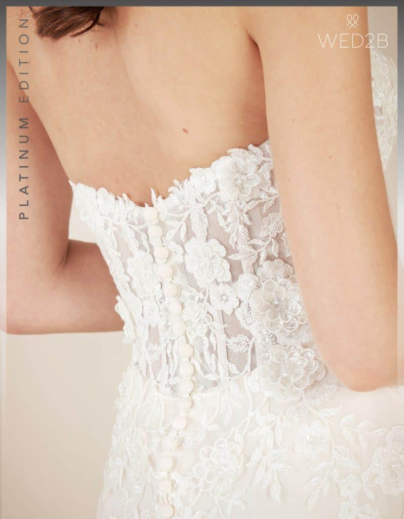 Detail view of new wedding dress Elliot by Viva Bride
