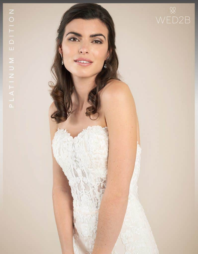 Close-up view of Elliot by Viva Bride, a dress with key 2020 wedding dress trends