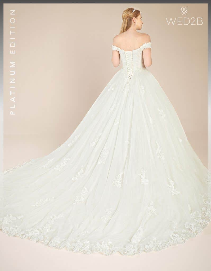 Back view of Grady by Anna Sorrano, a dress with key 2020 wedding dress trends