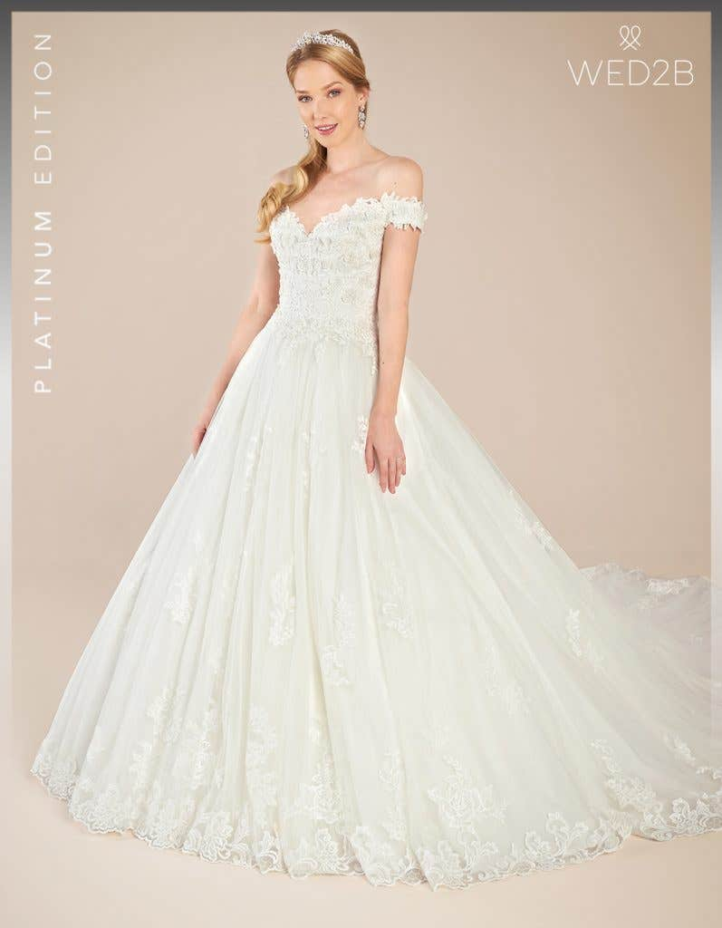 Front view of Grady by Anna Sorrano, a dress with key 2020 wedding dress trends