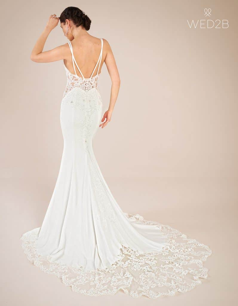 Back view of statement wedding dress Hemsworth by The Signature Collection