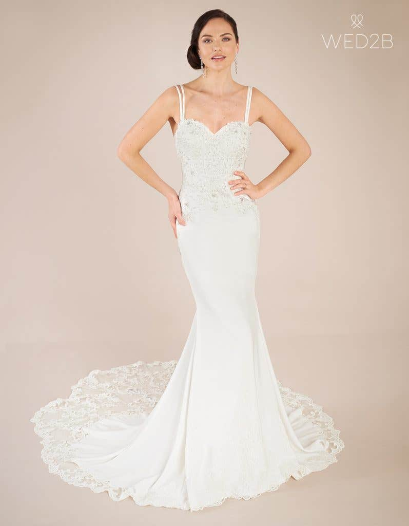 Front view of statement wedding dress Hemsworth by The Signature Collection