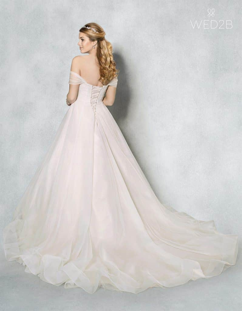 Back view of Star by Viva Bride, a dress with key 2020 wedding dress trends