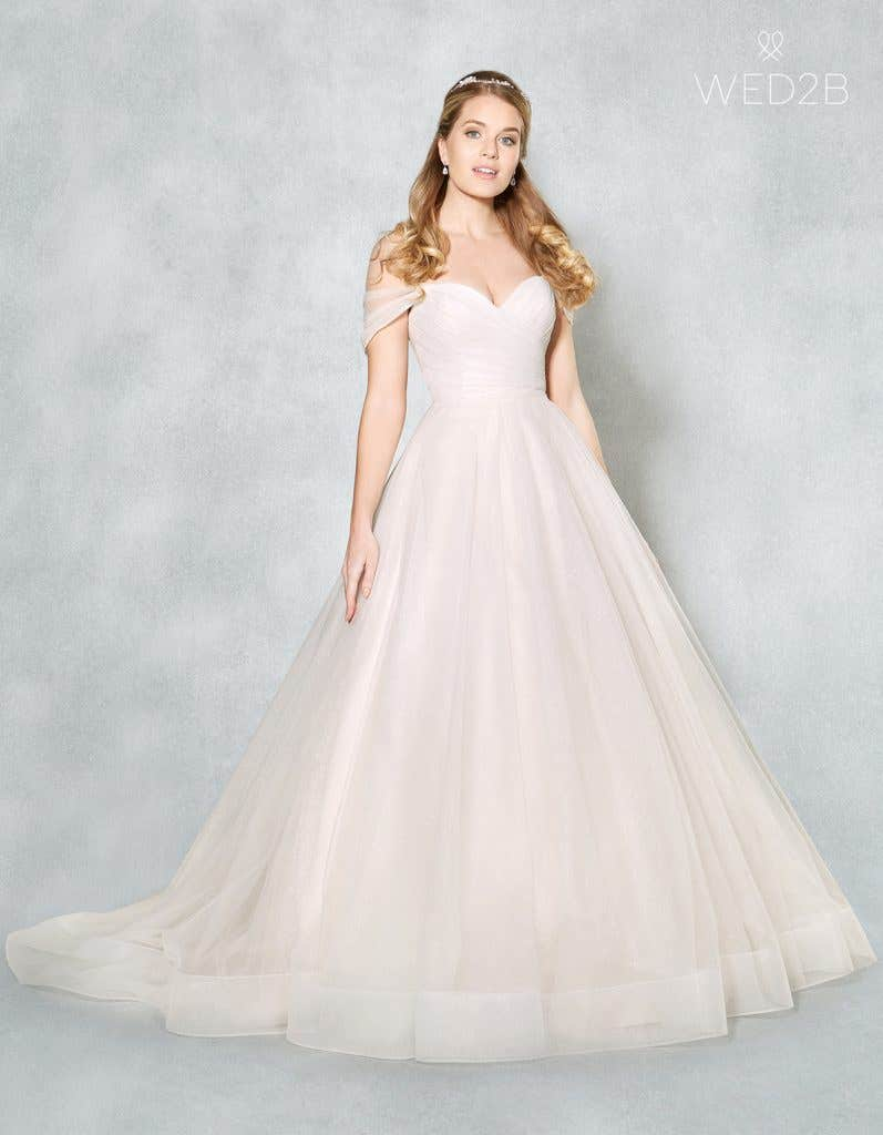Front view of Star by Viva Bride, a dress with key 2020 wedding dress trends