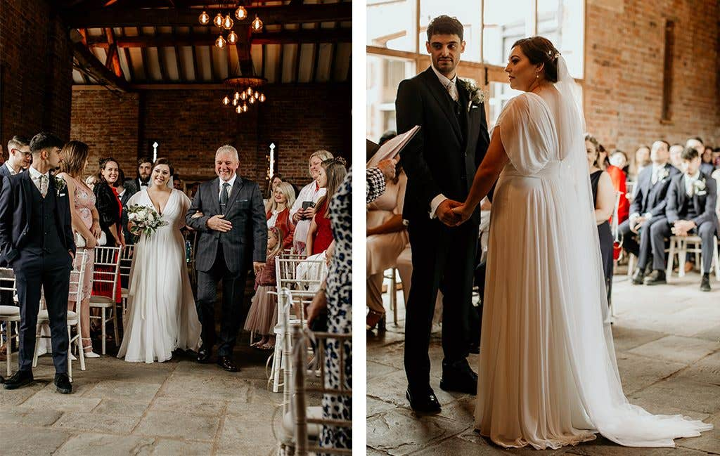Saying 'I Do' at this Cotswolds wedding