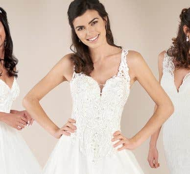 We love princess wedding dresses!