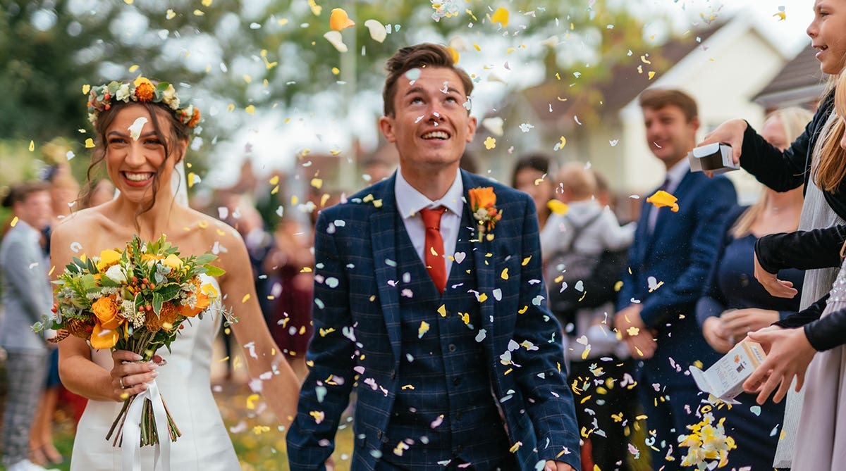 Real Weddings Norwich: Emma and Tom's delightful Norfolk wedding