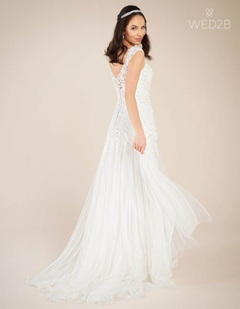 Back view of Astrid by Viva Bride, one of our exquisite wedding dresses