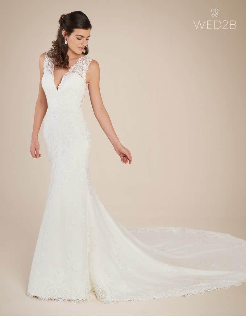 Front view of princess wedding dress Ferris by Viva Bride