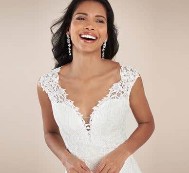 Feel like royalty in these luxury wedding dresses