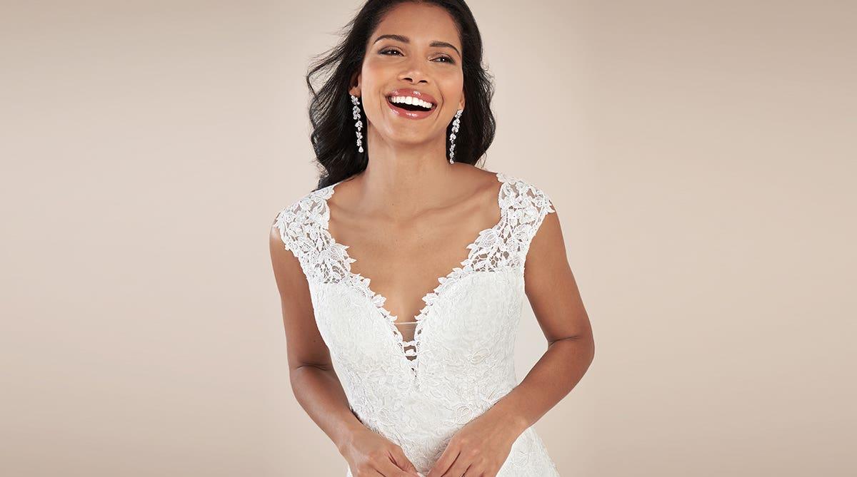 Feel like royalty in these luxury wedding dresses
