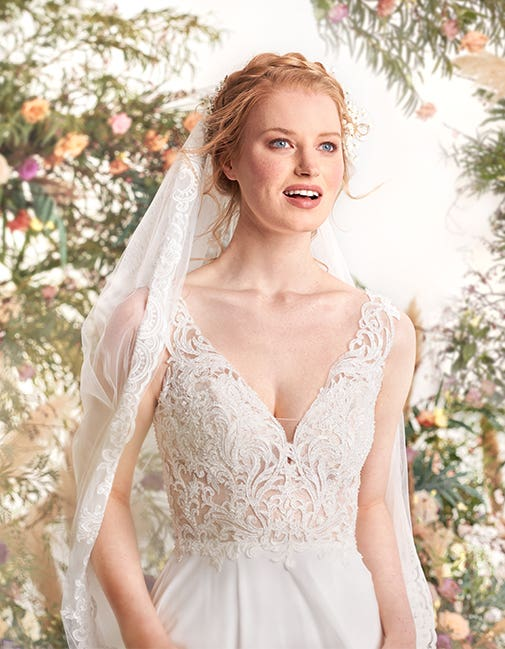 Enya from The Signature Collection, the perfect wedding dress for a Spring wedding