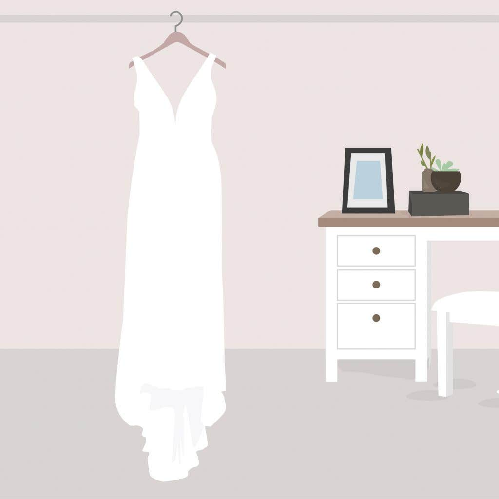 Wedding dress tips - how to store a wedding dress in a box